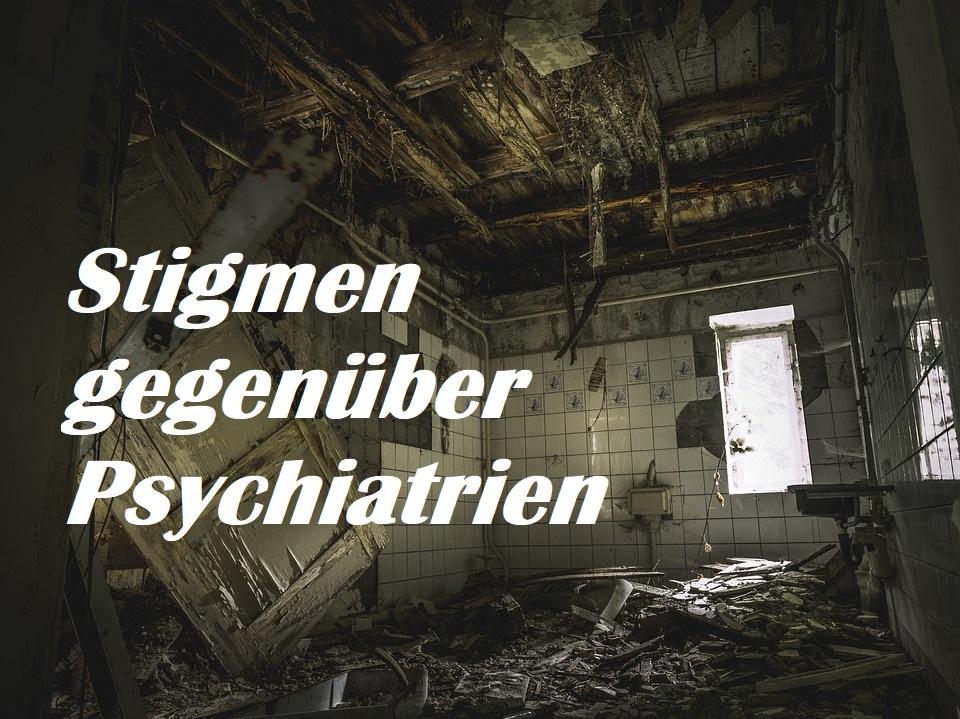 Psychiatriestigmen in unsererGesellschaft