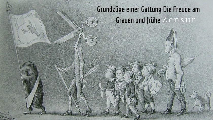 Grundzüge einer Gattung Die Freude am Grauen und frühe Zensur.